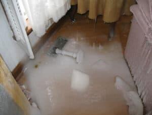 Harris Services - Frozen Water Damage